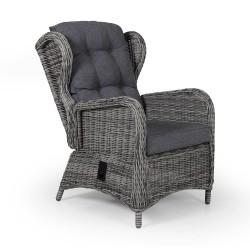 """Плетеное кресло """"Rosita"""" grey, регулируемое"""
