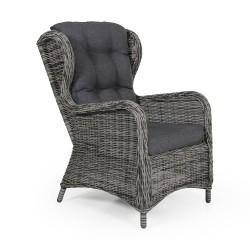 """Плетеное кресло """"Rosita"""" grey"""