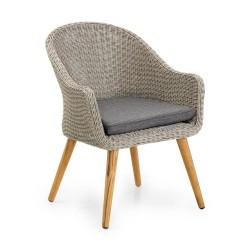 """Плетеное кресло """"Alford"""" grey"""
