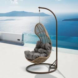 """Подвесное кресло """"Flora"""" beige"""