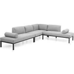 """Мебель """"Gonesse"""" из алюминия, модульный диван"""