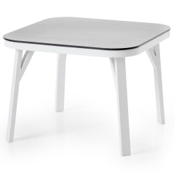 """Стол  """"Sevran"""" 60х60 из алюминия"""
