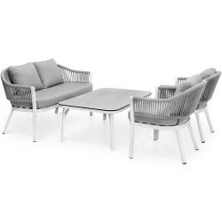 """Мебель """"Sevran"""" из алюминия, кофейная группа"""
