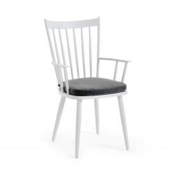 """Кресло """"Alvena"""" white из алюминия"""