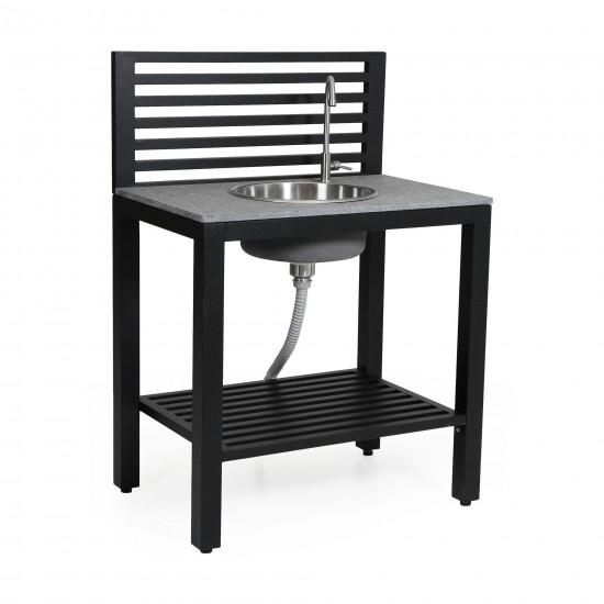 """Модуль """"Bellac"""" с раковиной  для летней кухни из алюминия"""